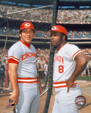 Johnny Bench / Joe Morgan Photo