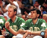 Larry Bird / Kevin McHale -  2 Photo
