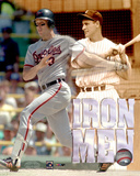 Cal Ripken Jr. & Lou Gehrig -The Iron Men Photo