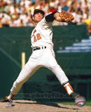 Jim Palmer - Pitching, arm back Photo