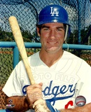Steve Garvey bat on shoulder posed Photo