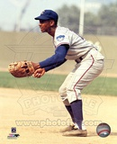 Ernie Banks - Fielding Photo