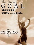 Ultimate Goal Poster