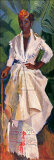 Woman in White II Art by Boscoe Holder