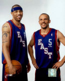 K. Martin and  J. Kidd - &#39;04 All Star Game &#169;Photofile Photo