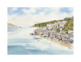 Fowey From Boddinick Limited Edition by  John Chisnall