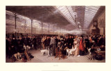 Perth Station, Going South 1895 Art by George Earl