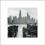 Lower Manhattan Print