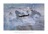 Lone Spitfire Plakater af Gerald Coulson
