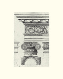 English Architectural I Print