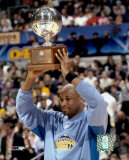Voshon Lenard with 2004 All-Star Game 3 Point Contest Trophy ©Photofile Photo