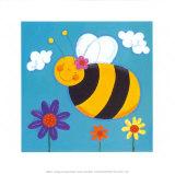 Mini Bugs II Print van Sophie Harding