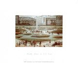 Piccadilly Gardens Kunstdrucke von Laurence Stephen Lowry