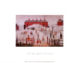 The School Yard Prints by Laurence Stephen Lowry