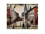 The Fever Van Print by Laurence Stephen Lowry