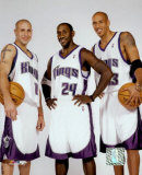 Bibby, Jackson and Christie - '03/'04 Group ©Photofile Photo