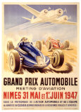 Grand Prix Automobile Meeting Giclee Print by Geo Ham