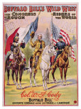 Buffalo Bill's Wild West, Entente Cordial Giclee Print