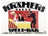Kramer's Welt-Bar Giclee Print by Gerda Wegener