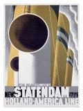 New Statendaam Giclée-tryk
