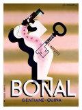 Bonal, 1933 Reproduction procédé giclée par Adolphe Mouron Cassandre