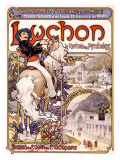Luchon Giclee Print by Alphonse Mucha