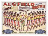 Al Field Minstrels Giclee Print