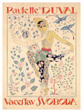 Duval, Svoboda Giclee Print by Georges Barbier