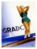 Grado Giclee Print by Marcello Dudovich