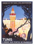 Tunis Giclée-tryk