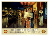 Southport, Evening Giclee Print by Fortunino Matania