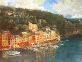 Portofino Print by Michael Longo