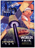 Chicago World's Fair, 1934 Giclee Print by Sandor