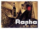 Rapha on en Raffole Giclee Print by Charles Loupot