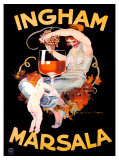 Ingham Marsala Giclee Print by Marcello Dudovich