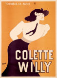 Colette Willy Giclee Print by Sem