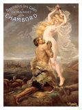 Chambord Giclee Print by  Pinrrido