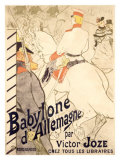 Babylone d'Allemagne Lámina giclée por Henri de Toulouse-Lautrec