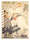 Babylone d'Allemagne Giclee Print by Henri de Toulouse-Lautrec