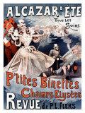 Alcazar d'Ete, P'Tites Binettes Giclee Print by Alfred Choubrac