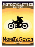 Monet and Goyon Giclee Print by O. K. Gerard