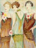 Trois Bijoux II Print by Karen Dupré