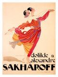 Sakharoff Giclee Print
