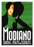 Modiano Giclee Print by Franz Lenhart