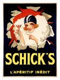 Schick's Giclee Print