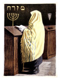 Judaica Salon des Cent No. 9 Giclee Print