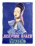 Josephine Baker, Pacific Giclee Print by Guy-Gerard Noel