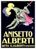 Anisetto Alberti Giclee Print by Achille Luciano Mauzan