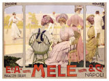 E&A Mele, Tennis Giclee Print by Leopoldo Metlicovitz