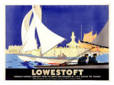 Lowestoft Giclee Print by Frank Newbould